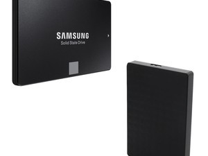 Bundle the Samsung 860 EVO 250GB SSD and a Seagate 2TB hard drive together for $120
