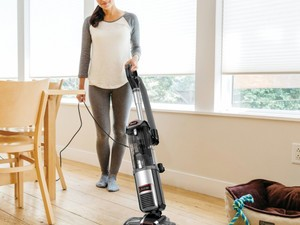 Banish dust and pet hair with the $140 Shark DuoClean Slim Bagless Upright Vacuum