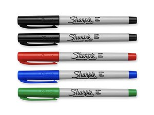 Grab five Sharpie permanent markers for less than $3