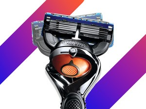 Today only, get the Gillette Fusion ProGlide Bundle for $18