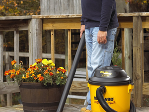 This $77 Shop-Vac HP Ultra Pro 12-Gallon Wet or Dry Vacuum comes with a detachable blower
