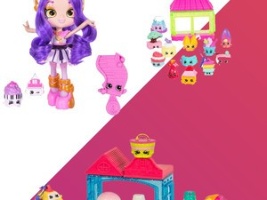 Stock up on some extra Shopkins toys with sets starting at just $3
