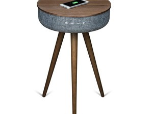 This $180 Sierra Modern Home table is a Bluetooth speaker and wireless charger