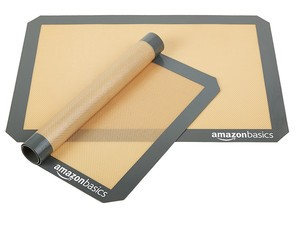 Grab two AmazonBasics silicone baking mats for just $9