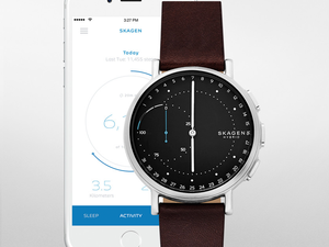 Send notifications straight to your wrist with one of these $56 Skagen hybrid smartwatches