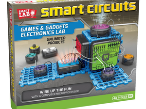 Build games and gadgets with this $24 Smart Circuits Electronics Lab
