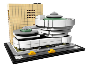 Add the Solomon R. Guggenheim Museum to your Lego Architecture collection for $64