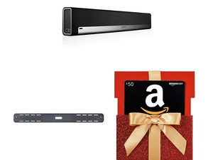 Score a free wall mount and $50 Amazon gift card with Sonos Playbar purchase