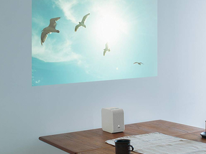 Take the big screen with you with the heavily discounted Sony LSPX-P1 portable projector