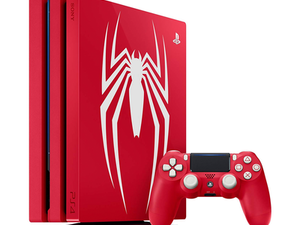 Swing over to The Source and grab the limited edition Spider-Man PS4 Pro console while supplies last