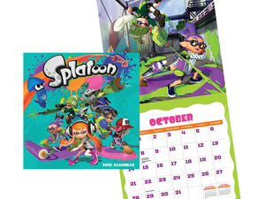 Splash some color on your wall with this $4 Splatoon 2 Calendar