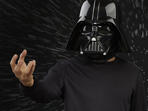 Level up your Darth Vader halloween costume with this $74 Star Wars Premium Electronic Helmet
