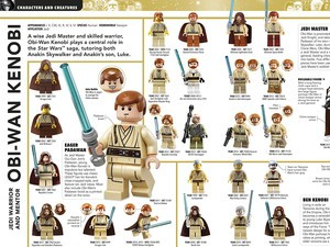 The $20 Ultimate Lego Star Wars book has everything a fan would want