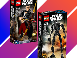 These Lego Star Wars buildable figures are down to $10 each