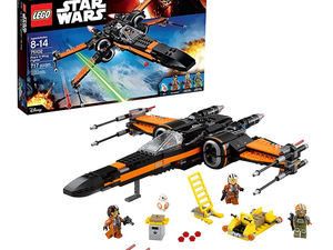 Build Poe's X-Wing Fighter from Star Wars VII with this $53 Lego set