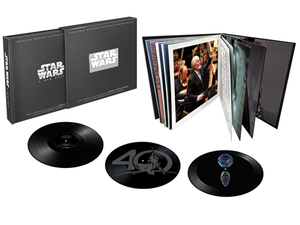 This $99 limited edition Star Wars: A New Hope vinyl set projects a hologram of the Death Star