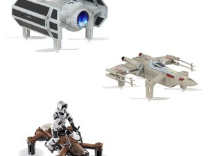 Pit these Star Wars quadcopters against each other in battle with 3 for $140