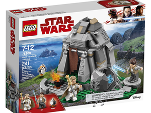 Save 20% off the new Lego Star Wars Ahch-To Island Training building kit at Amazon
