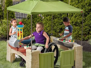 The Step2 All Around Playtime Patio is down to $125