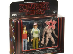 Adorn your desk with three Funko Stranger Things action figures for $13