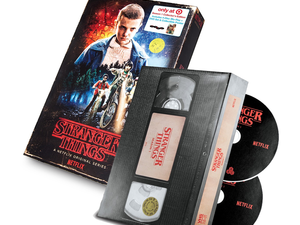 Rewatch Stranger Things Season 1 over and over with this Collector's Edition Blu-ray for $15