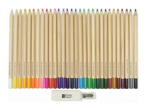 Every hue will be at your disposal with this $7 erasable colored pencil set