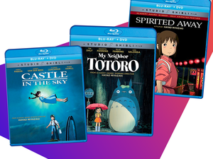 Get spirited away with Studio Ghibli films on Blu-Ray at just $13 each
