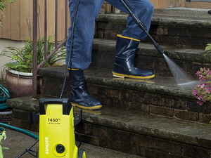 Wash away the grime with the portable $64 Sun Joe Electric Pressure Washer