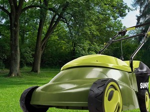 Ditch the gas with Sun Joe's 14-inch electric mower for just $60 today