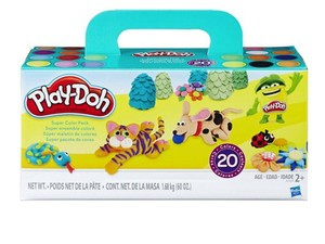 Roll in dough with 20 cans of colorful Play-Doh for $10