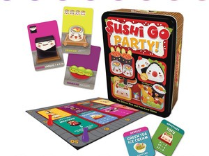 The Sushi Go Party! Card Game is just $14 at Amazon