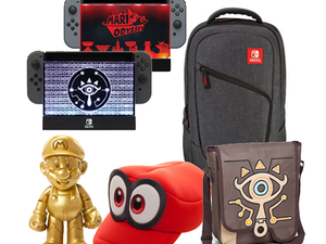 Celebrate the Nintendo Switch's one-year anniversary with 20% off collectibles and accessories at GameStop
