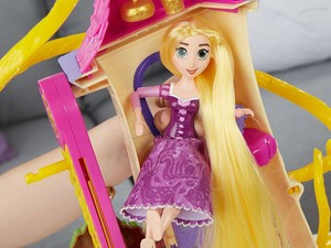 Treat your Rapunzel fan to this $10 Disney Tangled Castle Doll playset