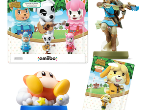 Target has select Nintendo amiibo figures like Archer and Rider Link on clearance