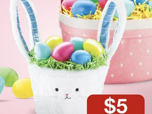 Spend $25 on Easter basket supplies and get a $5 Target gift card