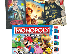 Movies, books and board games are buy 2, get one free at Target