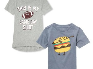 Outfit your kids on the cheap with $2 shirts from The Children's Place