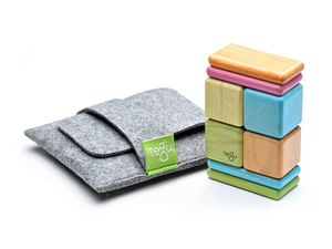 Play on-the-go with the $19 Tegu 8-piece Magnetic Wooden Block Set