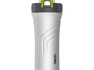 The $22 Thermos Vacuum-Insulated Shaker Bottle will keep your protein shakes cold