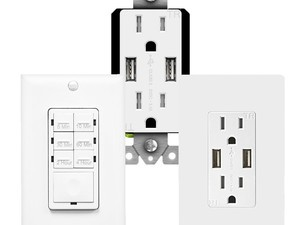 Outfit your home with new USB wall receptacles, timer switches and more starting at $13 each