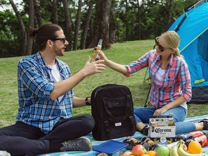 Pack up a picnic with 25% off Tourit backpack coolers today only