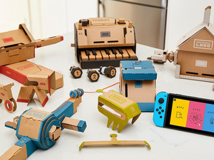 Build unique gaming accessories for your Switch with two Nintendo Labo Kits for $99