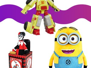 Save Up to 30% on select toys from Disney, Transformers, and more