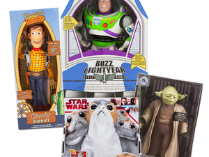 Bring the magic of Disney home with these talking action figures for $20 each