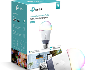 Choose a color to set the mood with the $23 TP-Link A19 LED Smart Bulb