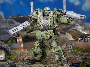Transform $11 into this Premier Edition Autobot Hound from Transformers: The Last Knight