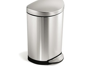 The simplehuman small step trash can has matched its lowest price ever