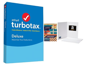 Prepare for Tax Season with TurboTax Deluxe for $32