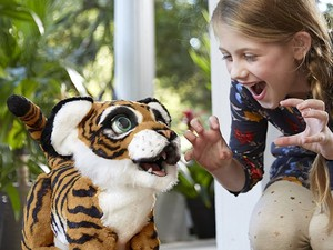 Your kids can play with the popular FurReal Roarin' Tyler for only $55