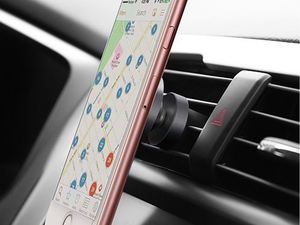 Let this magnetic air vent mount hold your phone safely while driving for $7